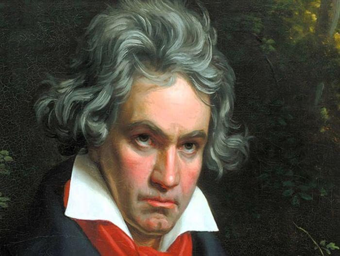 Книжная выставка к 190-летию со дня смерти Людвига ван Бетховена