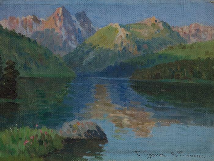 Выставка работ Григория Гуркина