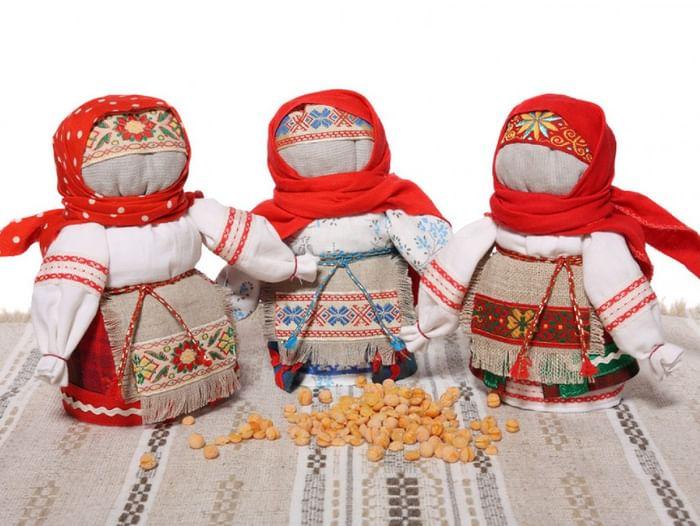 Мастер-класс по изготовлению русской обереговой куклы