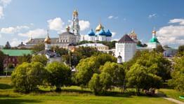 Сергиев Посад — православный центр Золотого кольца