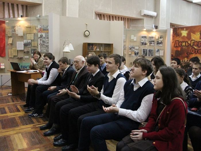 Встреча с мастером кружевоплетения Л. А. Фёдоровой
