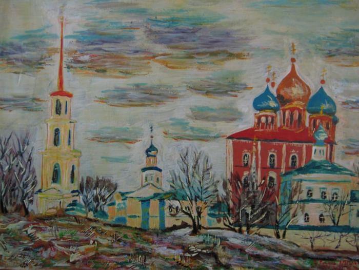 Выставка Олега Юрьевича Лопатухина