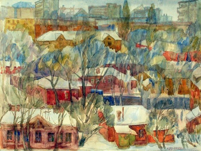 Персональная юбилейная выставка произведений Г. А. Кудрявцева