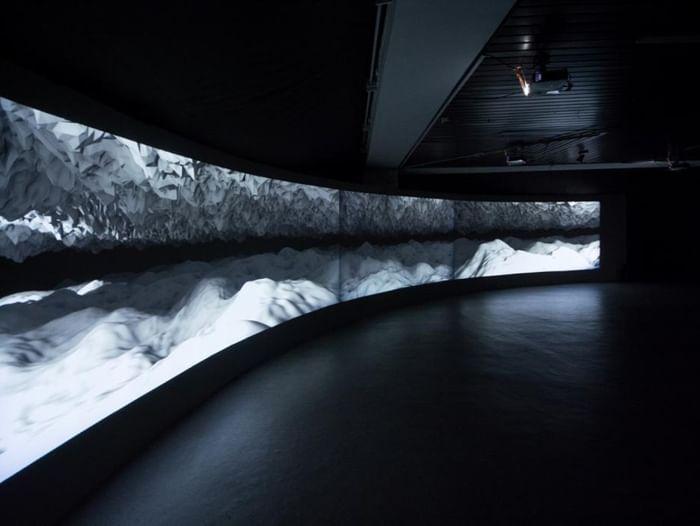 Выставка «Аудиовизуальная инсталляция COVA»