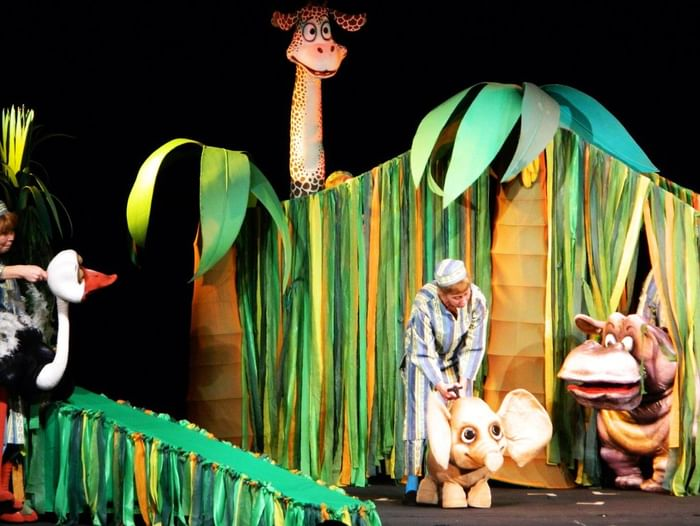Спектакль «Несносный слонёнок»