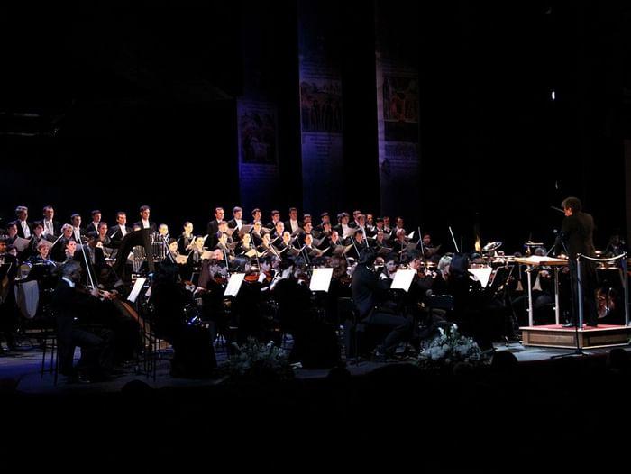 Большой пасхальный концерт