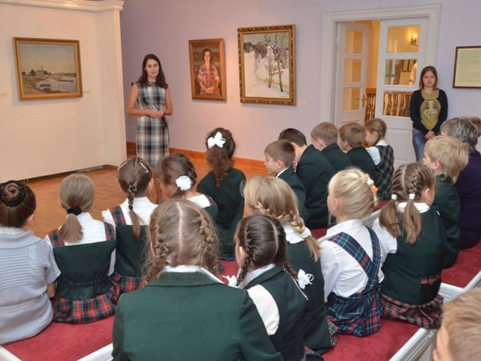 Акция «Уроки творчества в музее»