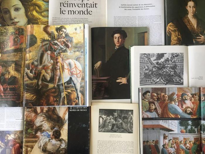 Книжно-иллюстративная выставка «Западноевропейская живопись XV–XVIII вв.»
