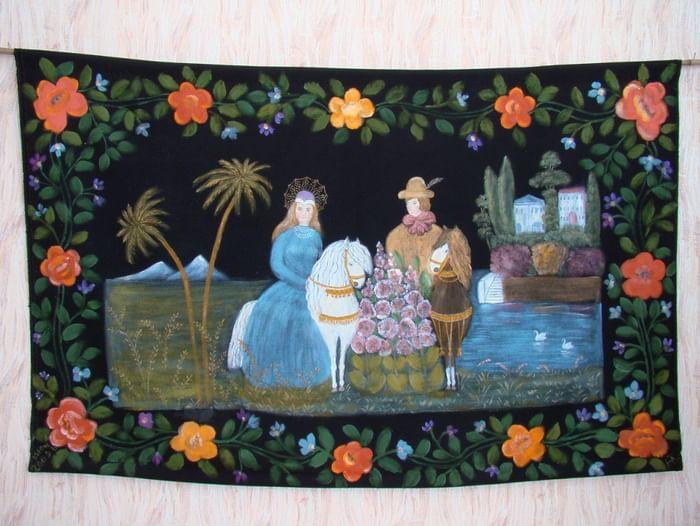 Открытие персональной выставки Надежды Тарасевич «Неувядаемые краски народного искусства»