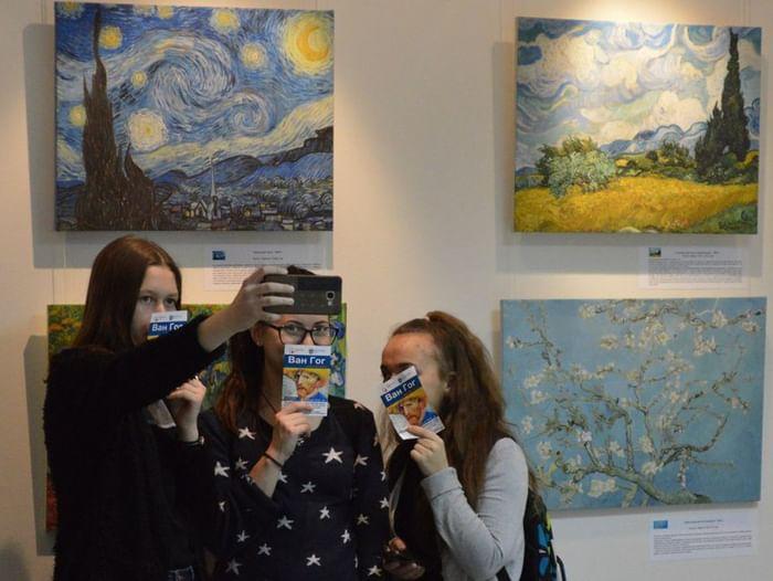 Открытие выставки «Ван Гог. Симфония цвета»