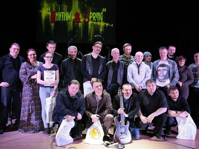 Фестиваль-концерт барабанщиков и гитаристов Rhythm & Spring