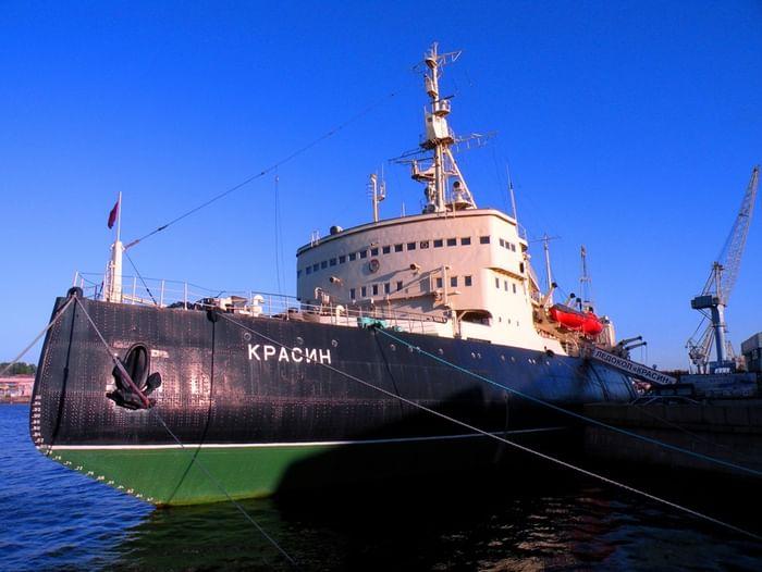 Праздник «100 лет легендарному ледоколу «Красин»