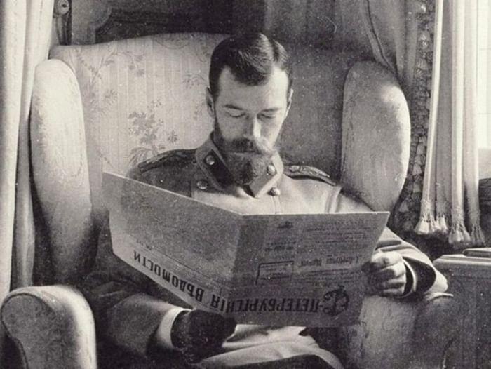 Электронная выставка «Исторические потрясения начала XX века: отречение от престола Николая II»
