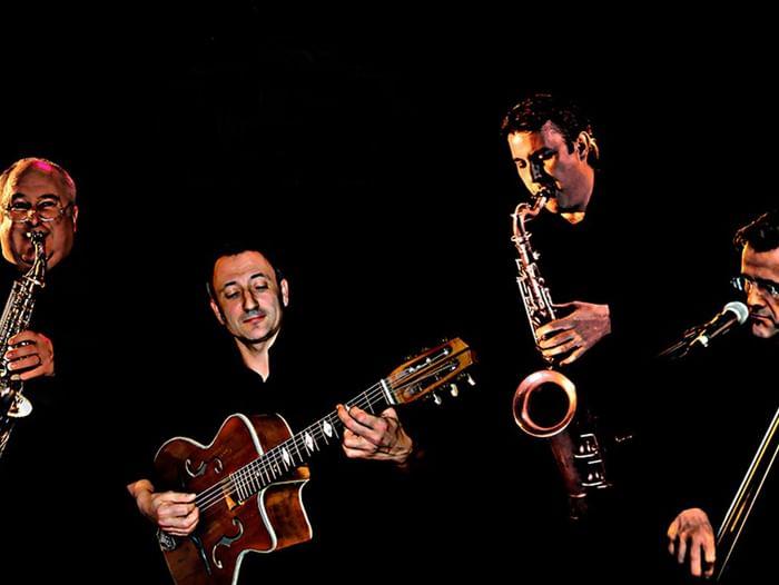 Концерт джазового квартета Mister Swing (Франция)
