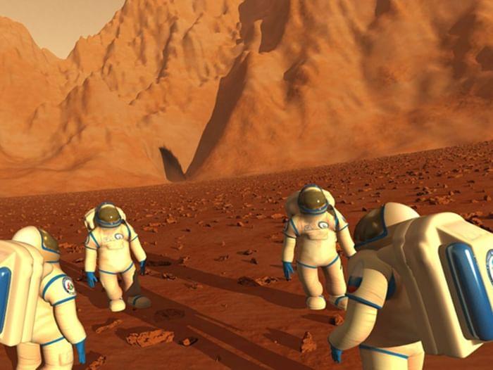 Интерактивная программа «Первые на Марсе»