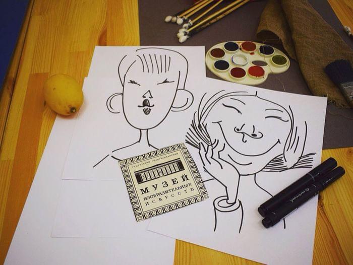 Мастер-класс «Забавный карандаш»