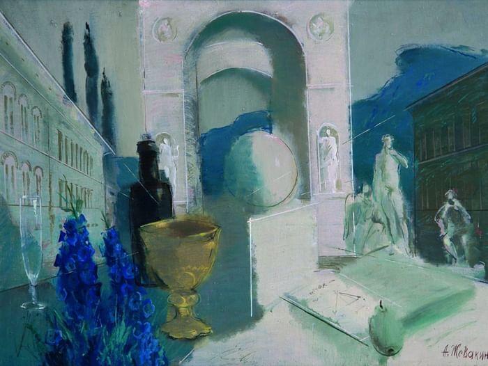 Выставка Андрея Жевакина