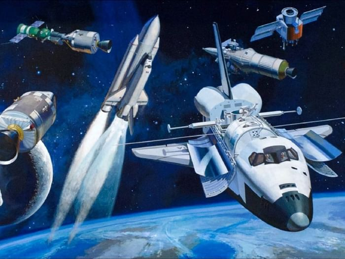 Выставка книг «И снится нам не рокот космодрома...»