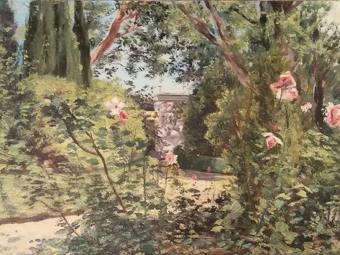 Выставка живописи В. Г. и М. В. Ломакиных