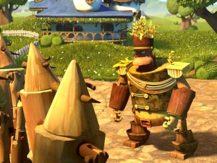 Показ мультфильма «Урфин Джюс и его деревянные солдаты»