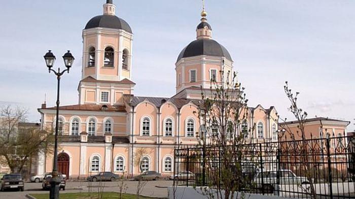 Богоявленский кафедральный собор города Томска