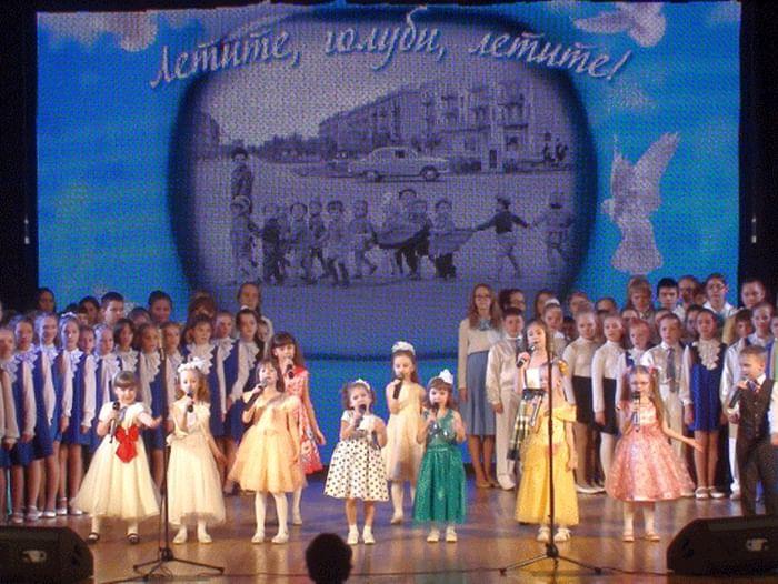 Концерт «Этюд в весенних красках»