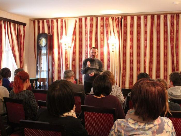 Встреча «Несколько дней в роли сотрудника провинциальной газеты»