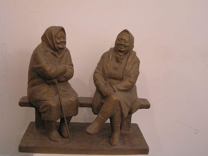 Выставка работ Б. И. Мусата «Любить человека»