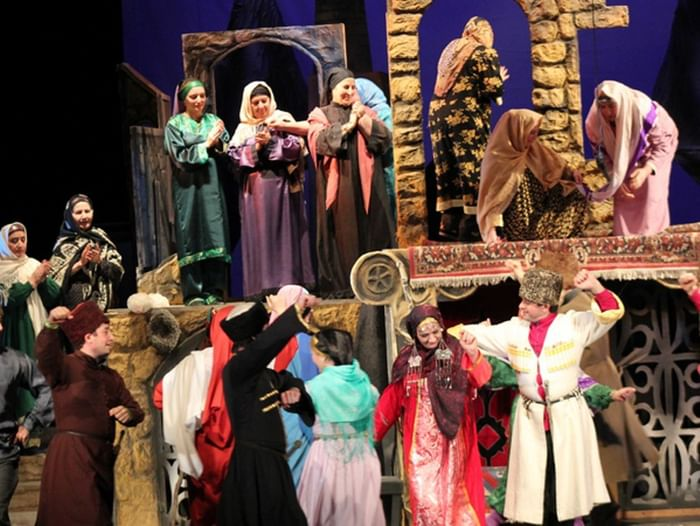 Спектакль «Али с гор»