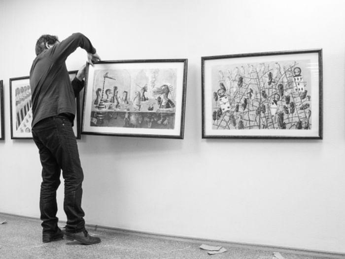 Выставка Дмитрия Трубина «Алиса»