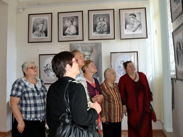Выставка работ М. А. Поленовой
