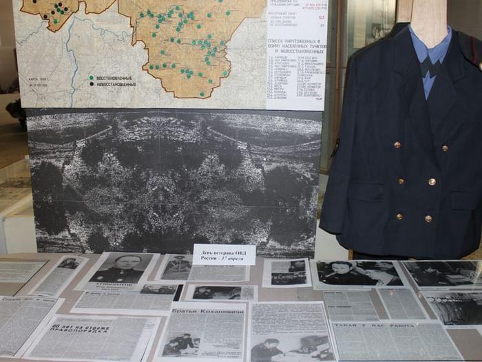 Выставка «Солдаты правопорядка»: ветеранам ОВД посвящается»