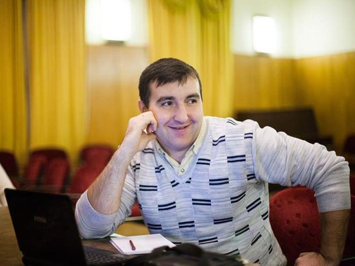 Встреча Александра Евсюкова с читателями