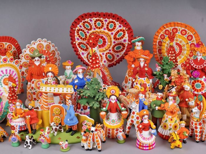 Областная выставка-конкурс «Глиняная сказка»