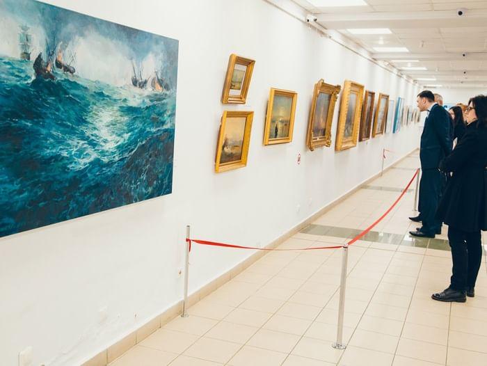 Выставка «Айвазовский. 200 лет»
