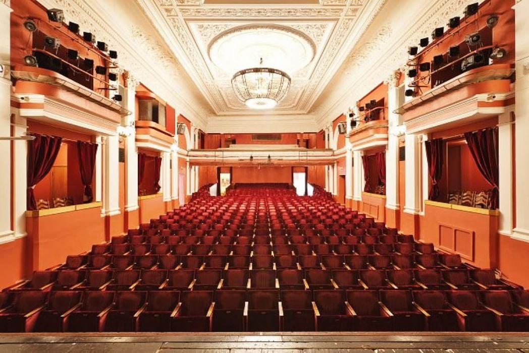 Схема зала театра на малой бронной