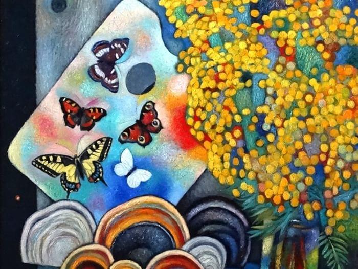 Выставка «Бабочки на палитре»