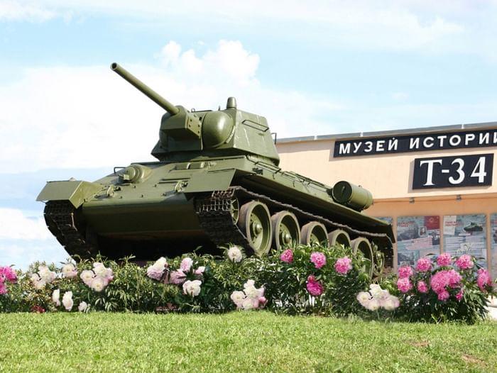 «Ночь» в Музее истории танка Т-34