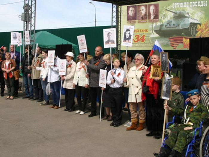 День Победы в музее «История танка Т-34»