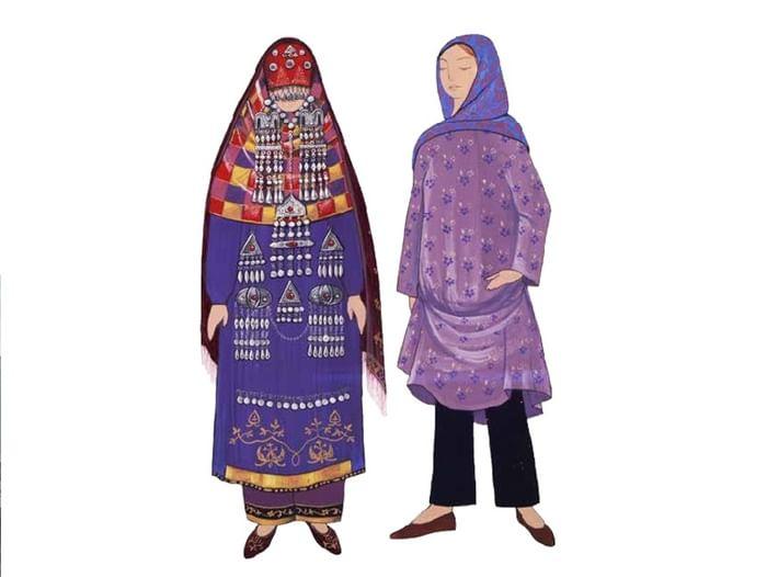 Выставка «Традиционный женский костюм народов Дагестана»