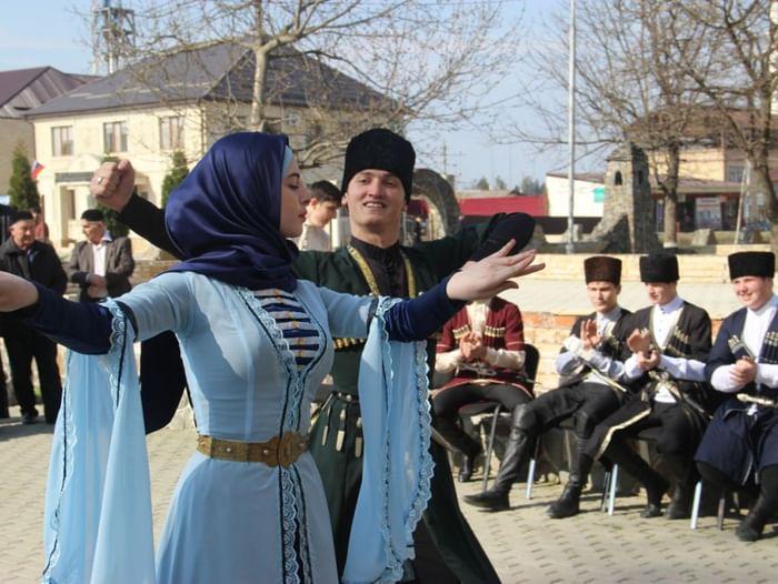 Конкурс «Чеченская Лезгинка»