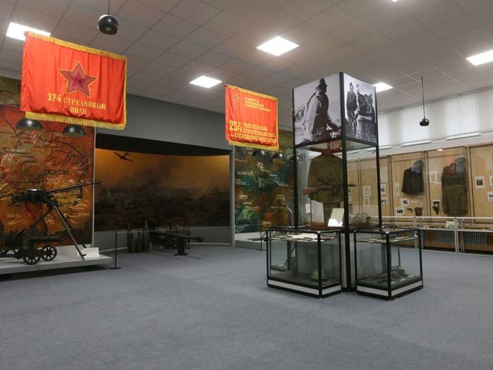 Сборная экскурсия по экспозиции «Псковский край в годы Великой Отечественной войны»