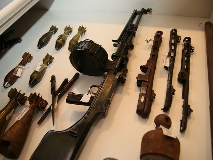 Сборная экскурсия по экспозиции «Оружие Победы»