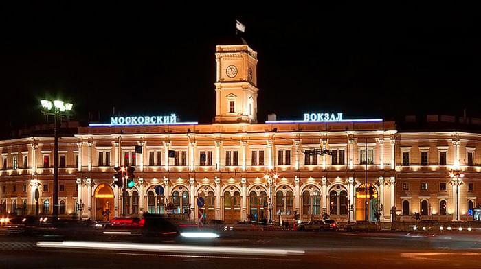Московский вокзал в Санкт-Петербурге