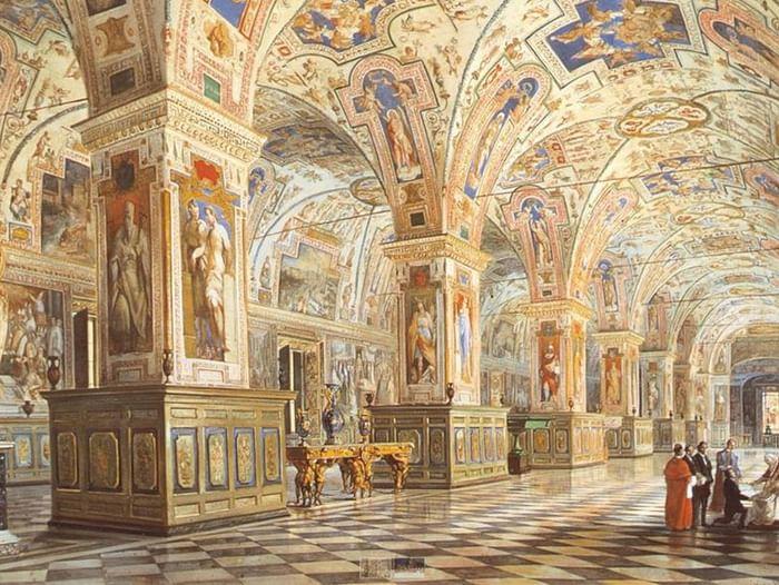 Лекция «Малахит Святого престола. Русский резной камень в Ватикане»