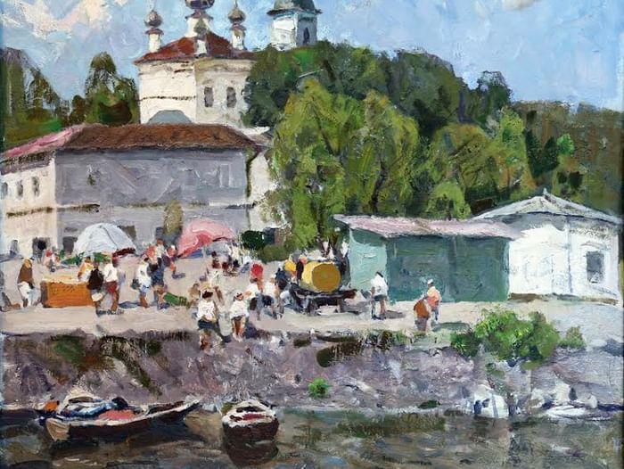 Выставка «Левитановский Плёс глазами современных художников»