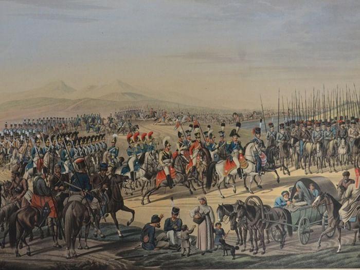 Выставка «Русская кавалерия в эпоху наполеоновских войн»