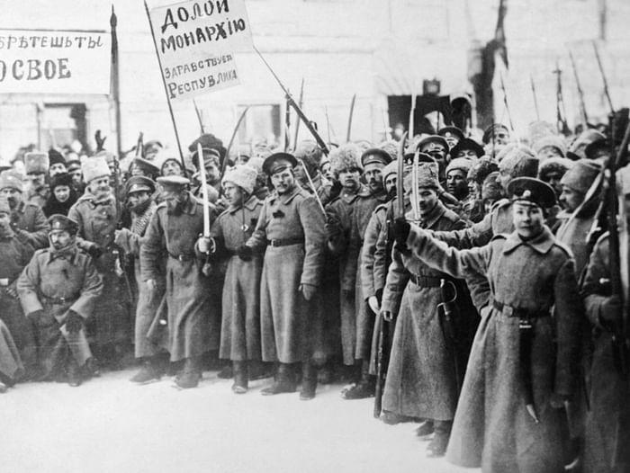 Выставка «Октябрь 1917 года в судьбе России»