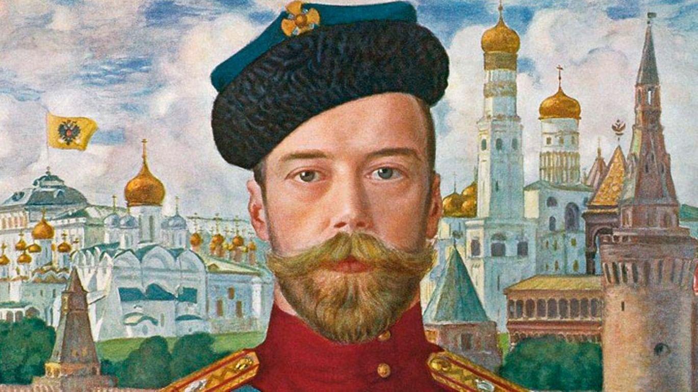 Николай II: биография в портретах