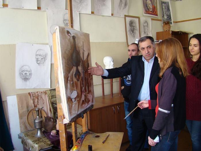 Мастер-класс по технике живописи